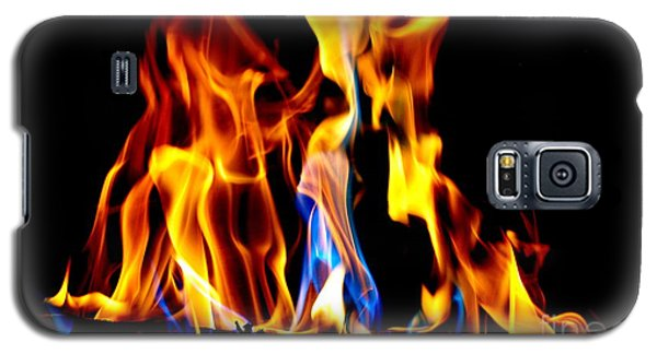 Inferno Abstract II Galaxy S5 Case
