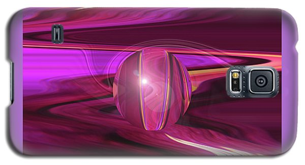 Infinity And Beyond - Abstract Iris Photography Galaxy S5 Case