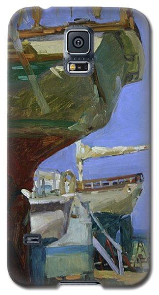 Infinity Awaiting Winter - Plein Air Catalina Island Galaxy S5 Case