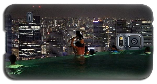 Infinity Pool At Marina Bay Sands Hotel Galaxy S5 Case