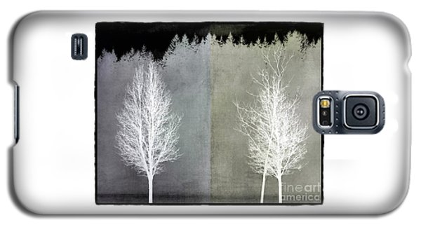 Infrared Trees With Texture Galaxy S5 Case