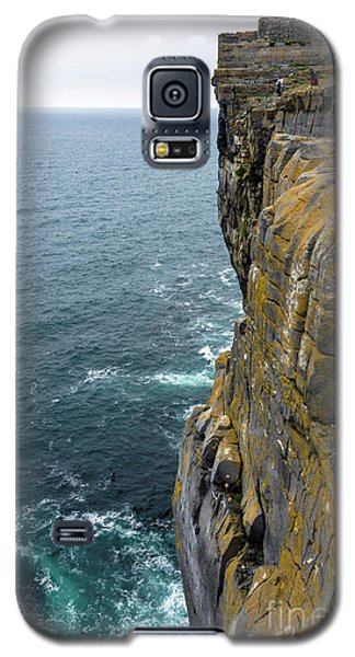 Galaxy S5 Case featuring the photograph Inishmore Cliff And Dun Aengus  by RicardMN Photography