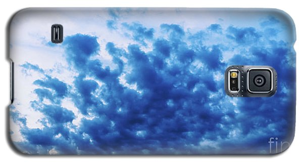 Galaxy S5 Case featuring the photograph Ink Blot Sky by Colleen Kammerer