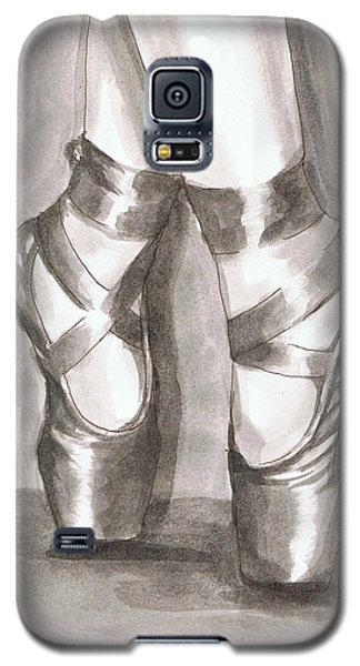Ink Wash En Pointe Galaxy S5 Case by Sarah Farren
