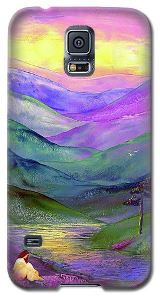 Inner Flame, Meditation Galaxy S5 Case