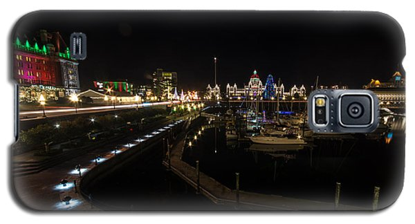 Inner Harbour Of Victoria Bc Galaxy S5 Case by Marilyn Wilson