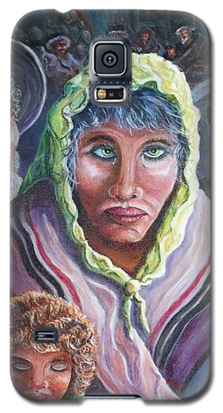 Innocence, Hope, Fear And Courage Galaxy S5 Case