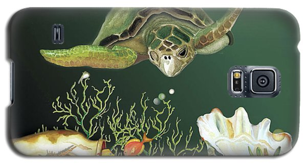 Inquisitive Turtle Galaxy S5 Case