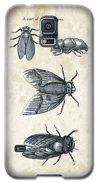 Insects - 1792 - 07 Galaxy S5 Case by Aged Pixel