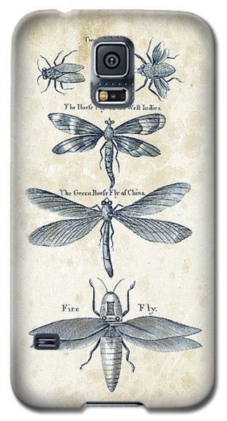 Insects - 1792 - 16 Galaxy S5 Case by Aged Pixel