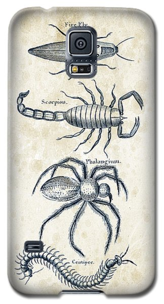 Insects - 1792 - 19 Galaxy S5 Case by Aged Pixel