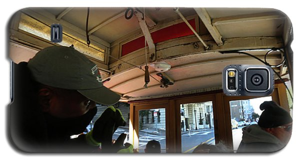 Inside A Cable Car Galaxy S5 Case by Steven Spak