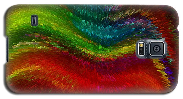 Inside A Rainbow Galaxy S5 Case by Stuart Turnbull