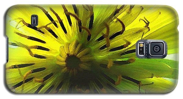 Inside A Yellow Goatsbeard  Galaxy S5 Case
