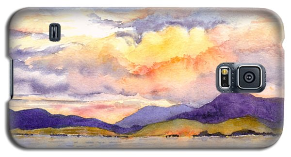 Inside Passage Sunset - Alaska Galaxy S5 Case