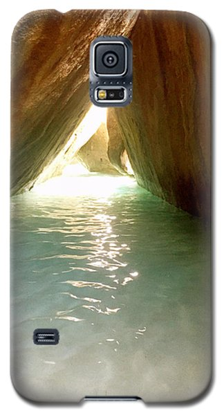 Inside The Baths On Virgin Gorda Galaxy S5 Case