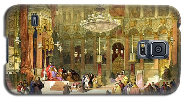 Inside The Church Of The Holy Sepulchre Galaxy S5 Case by Munir Alawi