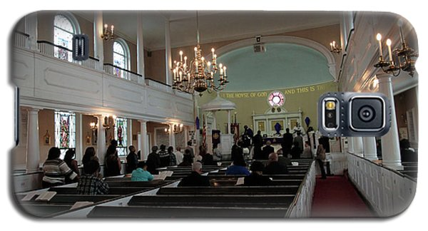 Inside The S. Georges Church Episcopal Anglican Galaxy S5 Case