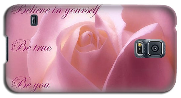 Inspirational Rose Galaxy S5 Case