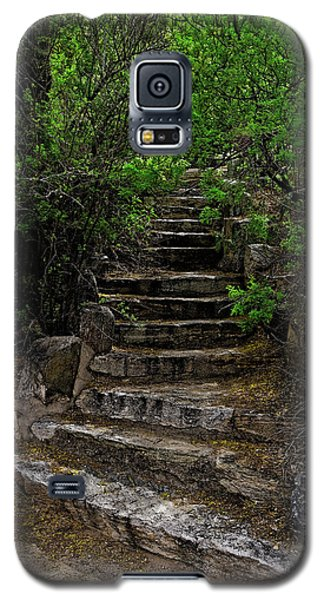 Galaxy S5 Case featuring the photograph Instep With Nature V53 by Mark Myhaver