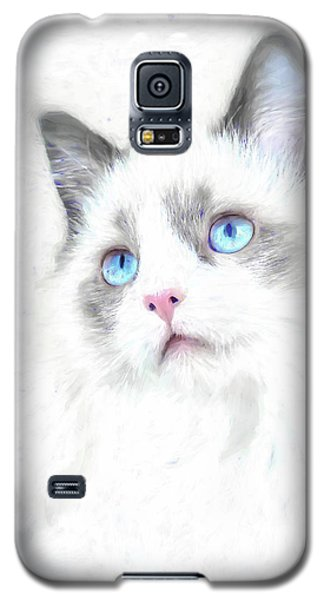 Intense Gaze Galaxy S5 Case