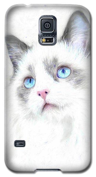Intense Gaze Galaxy S5 Case