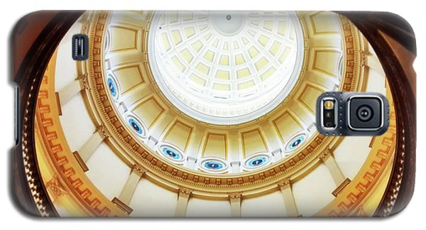 Galaxy S5 Case featuring the photograph Interior Denver Capitol by Marilyn Hunt