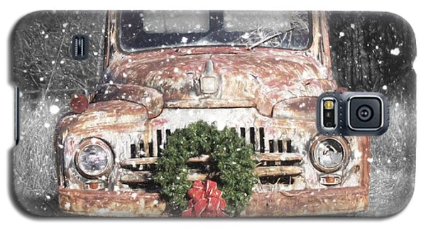 International Christmas Snow Galaxy S5 Case