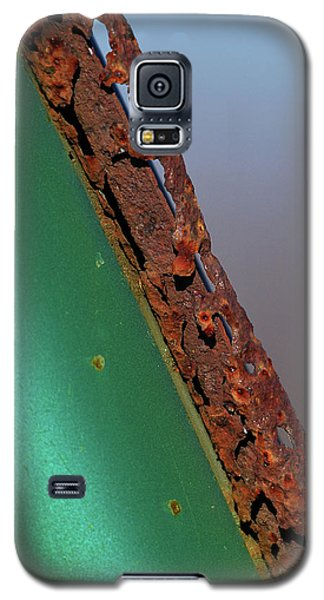 Galaxy S5 Case featuring the photograph International Green by Susan Capuano