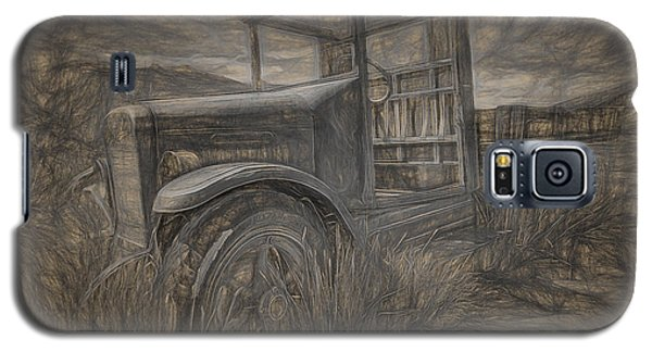 International Truck Skeleton Galaxy S5 Case