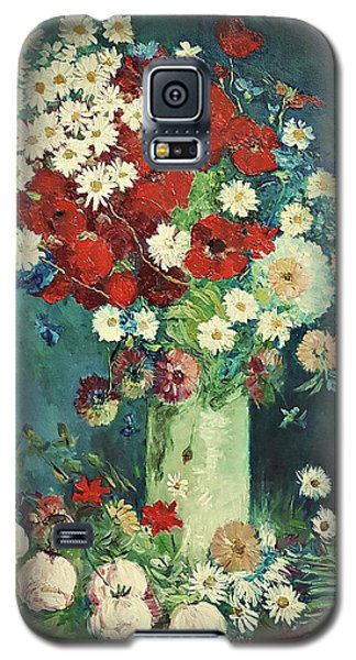 Interpretation Of Van Gogh Still Life With Meadow Flowers And Roses Galaxy S5 Case