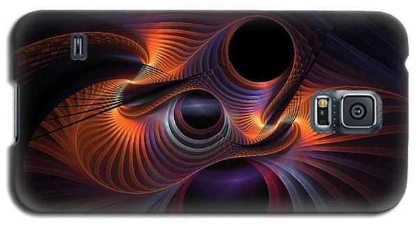 Interrupted Rainbow Galaxy S5 Case