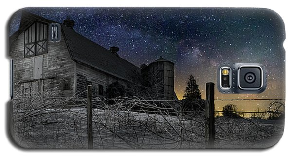 Galaxy S5 Case featuring the photograph Interstellar Farm by Bill Wakeley