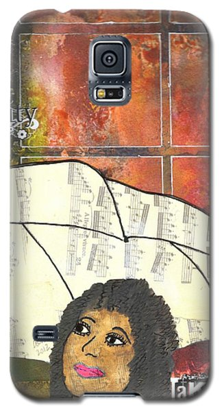 Into Every Life Some Rain Must Fall... Sing Anyway Galaxy S5 Case