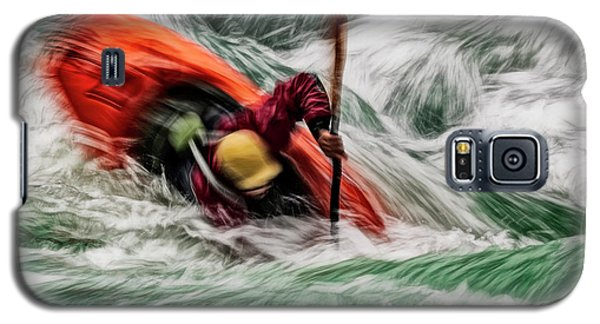 Galaxy S5 Case featuring the photograph Into The Drink by Brad Allen Fine Art