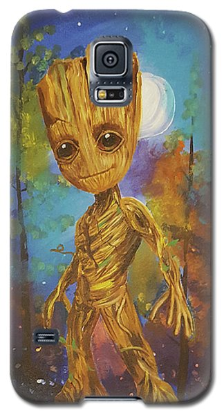 Into The Eyes Of Baby Groot Galaxy S5 Case