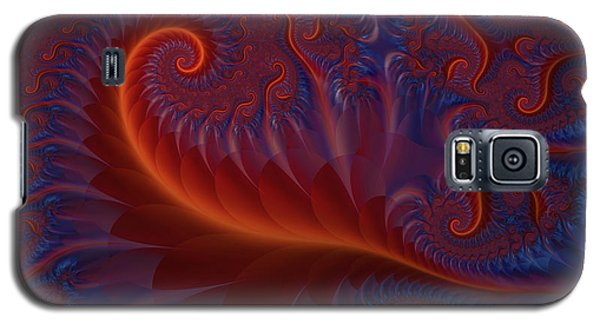 Into The Flames Galaxy S5 Case