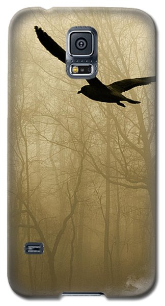 Galaxy S5 Case featuring the photograph Into The Fog by Harry Spitz