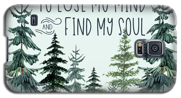 Into The Forest Galaxy S5 Case