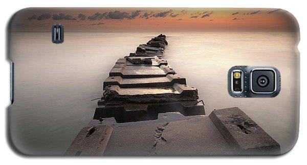 Into The Golden Morning Galaxy S5 Case