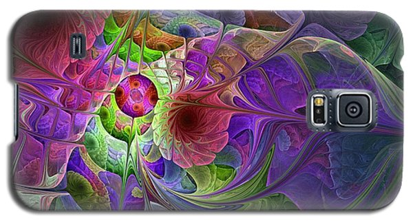 Galaxy S5 Case featuring the digital art Into The Imaginarium  by NirvanaBlues