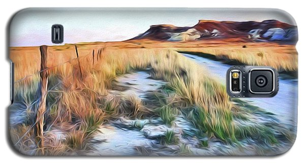 Into The Kansas Badlands Galaxy S5 Case by Tyler Findley