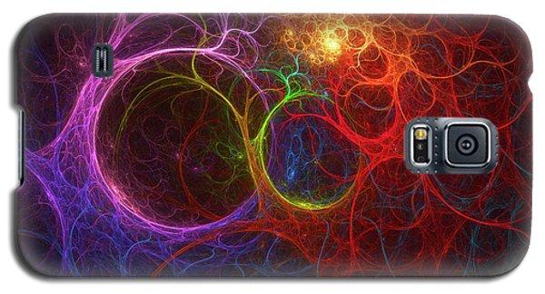 Galaxy S5 Case featuring the digital art Into The Light by Deborah Benoit