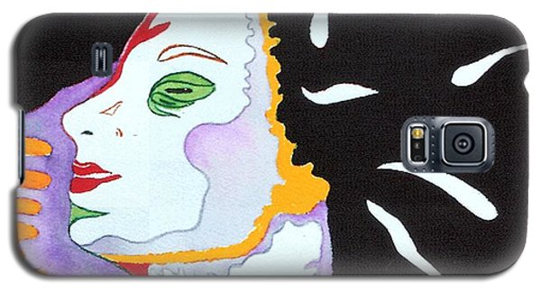 Galaxy S5 Case featuring the painting Into The Light by Diana Bursztein