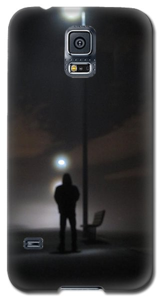 Galaxy S5 Case featuring the photograph Into The Mist by Digital Art Cafe