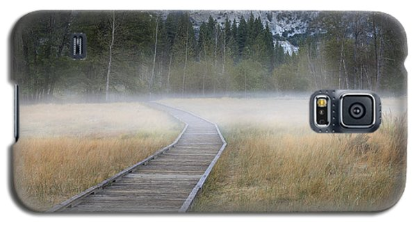 Galaxy S5 Case featuring the photograph Into The Mist by Sandra Bronstein