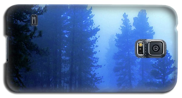 Galaxy S5 Case featuring the photograph Into The Snowy Woods by Ben Upham III