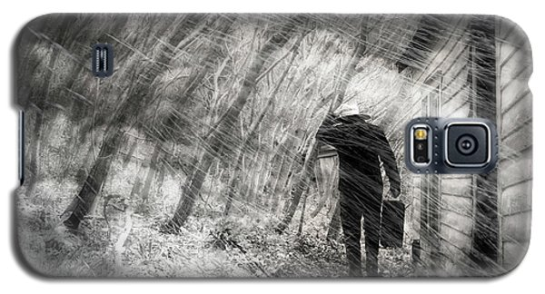 Galaxy S5 Case featuring the photograph Into The Storm by Gray  Artus