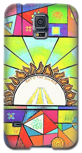 Into The Sun Galaxy S5 Case by Jeremy Aiyadurai