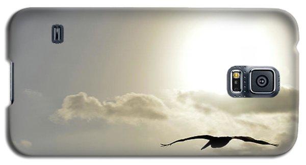 Galaxy S5 Case featuring the photograph Into The Sun by Sebastien Coursol
